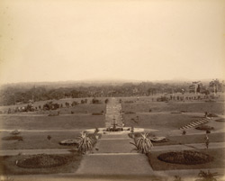View east of the [Golf] Pavilion, No.1 [Trivandrum]